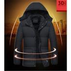 ダウンジャケット メンズ ビジネス 中綿ジャケット アウター 防寒ジャケット ダウンコート アウター 大きいサイズ 厚手 暖かい 撥水 軽量 防風 チチ クリスマス