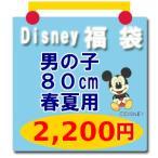 ディズニー子供服 Tシャツ ミッキーマウス他 福袋 Disney(ディズニー) (男の子80cm春夏用2)