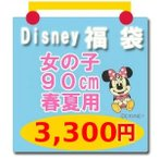 ディズニー子供服 ミニーマウスほか Tシャツ Disney(ディズニー) 福袋(女の子90cm 春夏用3)