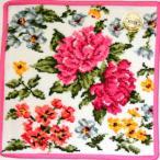フェイラー ハンカチ フェイラーハンカチ20%OFFフェイラーFEILER(オールドペオニー)白×ピンク(25cm)
