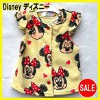 ディズニーベビー ミニー サイズ:90 子供服 Disney(ディズニー)【disney_y】 ディズニー ボアフリースベスト サイズ:90 ミニーマウス