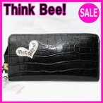 シンクビー 長財布Think Bee! ビーサファリ ラウンド財布(ブラック) Think Bee! (シンクビー!)