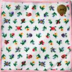 ショッピングフェイラー フェイラー ハンカチ フェイラーハンカチ フェイラー正規品 プティフローリスト FEILER ホワイト/ピンク 25cm
