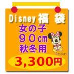 Disney(ディズニー)福袋  子供服 福袋【disney_y】(セール SALE) ディズニー福袋  (女の子90cm秋冬用3)ミニーマウスほか