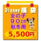 Disney(ディズニー) サイズ:90 子供服 福袋【disney_y】(セール SALE)ディズニー福袋 (女の子90cm秋冬用5)ミニーマウスほか