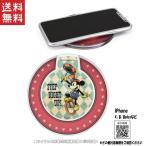 ディズニー ワイヤレス チャージャー 充電器 iPhoneX/8/8plus等に対応 キャラクター グッズ ミッキーマウス DN-523A ※7月下旬頃入荷予定