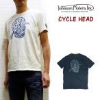 JOHNSON MOTORS CYCLE HEAD 2016(ジョンソンモータースTシャツ サイクルヘッド)