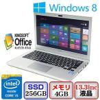 中古ノートパソコンSONY VAIO Tシリーズ 13 SVT1313AJ Windows 8 64bit Core i5 1.8GHz 4GB 256GB ドライブ なし 13.3インチ B1221N013 送料無料
