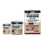 木材防虫防腐ソート(木部用) 2.5L アサヒペン 塗料