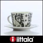 ショッピングイッタラ iittala イッタラ Taika タイカ  コーヒーカップ&ソーサー / ブラック