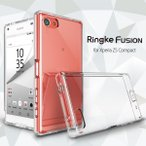 Xperia Z5 compact ケース Ringke FUSION ハイブリッドケース Crystal View クリア