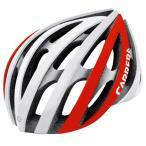 CARRERA カレラ ヘルメット RADIUS 自転車 インラインスケート向けヘルメット/white-Red