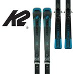 スキー板 K2 2021 金具付 DISRUPTION SC ALLIANCE + ER3 10 オンピステ カービング レディース