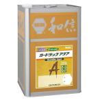 木材保護塗料 ガードラックアクア W・Pステイン ホワイト A-12 白 14K缶 【和信化学工業株式会社】