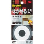 3M スコッチ はがせる両面テープ 強力薄手 12mmX8m KRE−12(KRE12)
