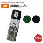 黒板用スプレー 黒 300ml (油性 ペンキ 塗料 ブラック サンデーペイント)