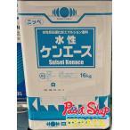 【送料無料】 水性ケンエース  白 16Kg ≪日本ペイント≫