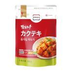 【冷蔵】『宗家』 カクテキ|大根サイコロキムチ(500g) チョンガ 大根キムチ 韓国キムチ 韓国食材 韓国食品