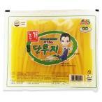 『ハンイル』業務用たくあん|のり巻き用(2.8kg) キムパップ ピクルス 海苔巻き 韓国料理 韓国食材 韓国食品