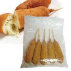 [冷凍]『アッシ』のびるチーズホットドッグ|チーズ味(120g×5本) ■1個当り320円 assi チジュハッドグ アメリカンドッグ 韓国屋台フード