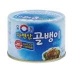 『ユドン』自然産つぶ貝缶詰(小・140g) 缶詰 韓国料理 韓国食材 韓国食品