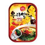 『センピョ』えごまの葉キムチ缶詰(辛口・70g) sempio 缶詰 韓国おかず 韓国料理 韓国食品