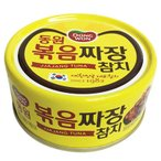 『東遠』ジャジャンソース炒めツナ缶(100g) ドンウォン おかず おつまみ 韓国料理 韓国食材 韓国食品 保存食 防災食 防災グッズ 非常食