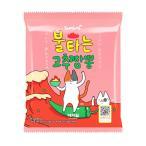 『三養』燃える唐辛子チャンポン(115g×1個) 燃えるコチュチャンポン 激辛ちゃんぽん 韓国ラーメン インスタントラーメン 韓国食品