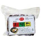 『フードレシ』冷麺の麺|黒(細麺)(160g)  韓国麺 韓国料理 韓国食材 韓国食品