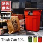 ダストボックス 30L ごみ箱 ゴミ箱 くず入れ 国内生産 日本製 屋外使用可能 ダウンロック式 おしゃれ 国産 カラフル アメリカン 送料無料