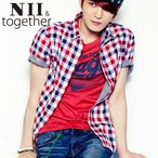 ショッピングJYJ 【NII 】 ジェジュン JEJUNG着用 ドラバプリント NII 半袖Tシャツ メンズファッション メンズ、レディース T-シャツ