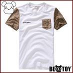 正規品 BEATOY Zebra Leo pocket round_Brown T-シャツ、半袖、tシャツ レディース 半袖 ロゴ メンズ 半袖 プリント ストリート 半袖