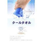 3枚セット クールタオル ひんやりタオル 冷却タオル 熱中症対策に ネッククーラー アウトドア スポーツ 首 子供 夏 冷たいタオル 冷える クールスカーフ