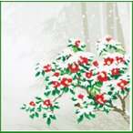 綿小ふろしき 中巾 冬 33-054414|b03