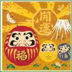 綿小ふろしき 中巾 達磨(だるま) 35-054416|b03
