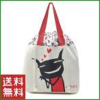 送料無料|ポイント5倍|アランジアロンゾ ワルモノ ネコ キャラクター バッグ 巾着 可愛い レディース