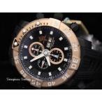 ショッピング円高還元 インヴィクタ 腕時計 Invicta Sea Base Valjoux ローズ ゴールド & ブラック ETA 7750 オートマチック チタニウム メンズ 腕時計