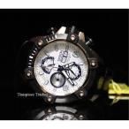 ショッピング円高還元 インヴィクタ 腕時計 Invicta Reserve Arsenal 48ミリ Valjoux 7750 シルバー ダイヤル ブラック レザー メンズ 腕時計