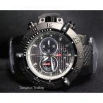 ショッピング円高還元 インヴィクタ 腕時計 Invicta サブアクア Noma III クロノグラフ クォーツ ブラック Carbon Fiber ダイヤル SS メンズ 腕時計