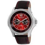 ショッピング円高還元 ストゥーリングオリジナル 腕時計 RARE Stuhrling Original メンズ 176C 331540 Targa スイス クォーツ レッド ダイヤル 腕時計