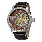 ショッピング円高還元 海外セレクション 腕時計 Stuhrling Original 308 3315K59 メンズ Delphi Prospero オートマチック レザー 腕時計