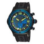 ショッピング円高還元 海外セレクション 腕時計 Stuhrling 3CR 335689 メンズ Alpine スポーツ クォーツ クロノグラフ ブルー ベゼル 腕時計