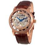 ショッピング円高還元 海外セレクション 腕時計 Stuhrling 165B2 3345K14 メンズ Winchester オートマチック アナログ スケルトン ダイヤル 腕時計