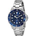 ショッピング円高還元 ストゥーリングオリジナル 腕時計 Stuhrling Original 664 02 メンズ アクアダイバー クォーツ ブルー ダイヤル Date Diver 腕時計