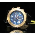 ショッピング円高還元 インヴィクタ 腕時計 Invicta 10584 オーシャン Reef Reserve クォーツ クロノグラフ ブルー ダイヤル ブラック レザー メンズ 腕時計