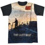 ザ ラストシップ Tシャツ トップス シャツ The Last Ship Searching TNT ライセンス Sublimation ブラック Back アダルト Tシャツ S-3XL