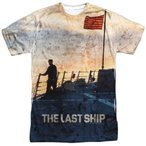 Tシャツ ザラストシップ The Last Ship Searching Licensed All Over Sublimation Poly Adult Shirt S-3XL