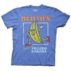 アメリカ人気キャラクター Tシャツ  Arrested Development Bluth's Frozen Banana LIC Adult T-Shirt - Blue