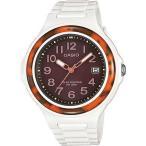 ショッピング円高還元 腕時計 カシオ Casio LXS700H-5B レディース ソーラー ホワイト レジン バンド べっ甲調 ベゼル アナログ 腕時計