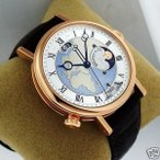 �ӻ��� �֥쥲 BREGUET Classique Hora Mundi 5717br/eu/9zu Europe and Africa NEW Ret: $78,900